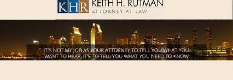 Keith H. Rutman, Attorney at Law